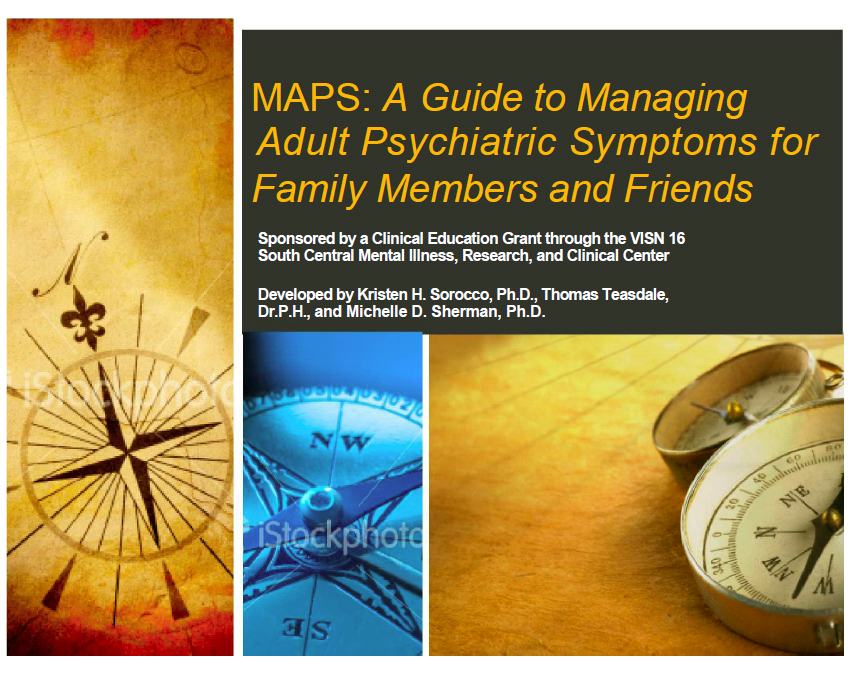 MAPS guide to adult psychiatric symptoms