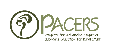 Program for Advancing Cognitive disorders Education for Rural Staff Logo