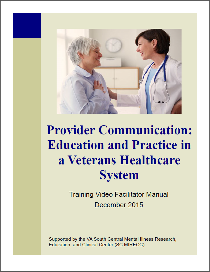 Provider Communication Guide