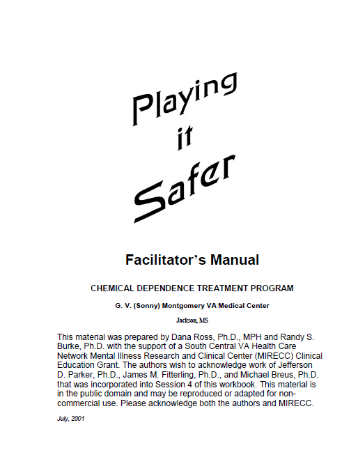 Playing it safer manual