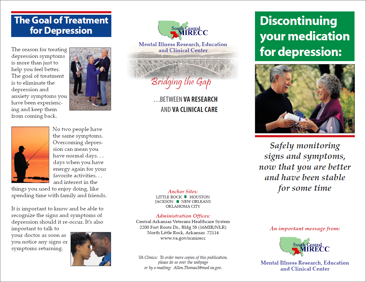 Discontinuing Medication Brochure