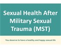Sexual Health After MST Brochures