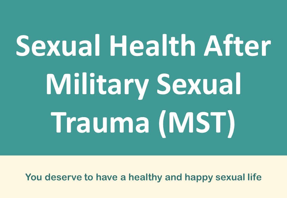 Collage of male and female Veteran images from Sexual Health After Military Sexual Trauma