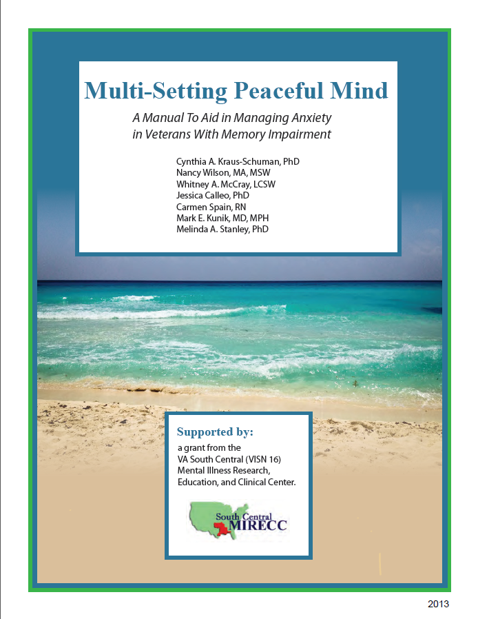 Multi-setting peaceful mind manual