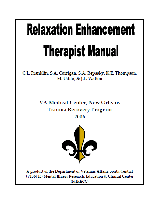 Relaxation enhancement therapist manual