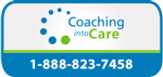 Coaching Into Care Small Button