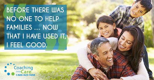 Before there was no one to help families… Now that I have used it, I feel good.
