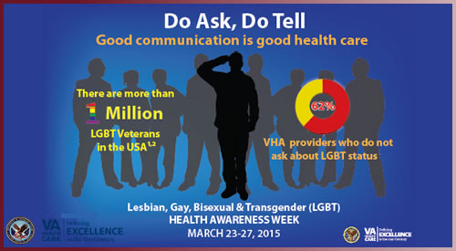 March 23-27, 2015 is LGBT Health Awareness Week