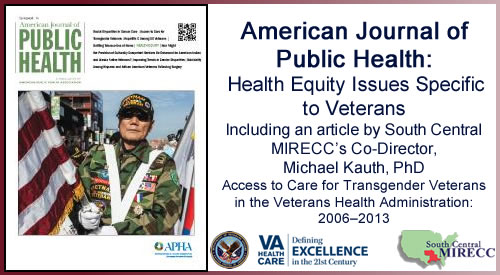 Health Equity Issues Specific to Veterans