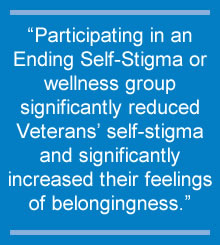Individuals with serious mental illness benefit from help to avoid internalizing negative attitudes