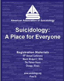 American Association of Suicidology Conference