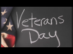 Thank you Veterans for participating in research