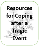 Resources for Coping after a Tragic Event