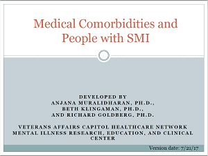 Medical Comorbidities and People with SMI